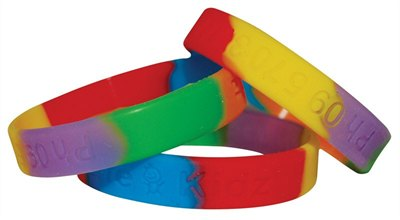 Sectional Silicone Wristband