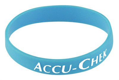 Printed Embossed Wristbands